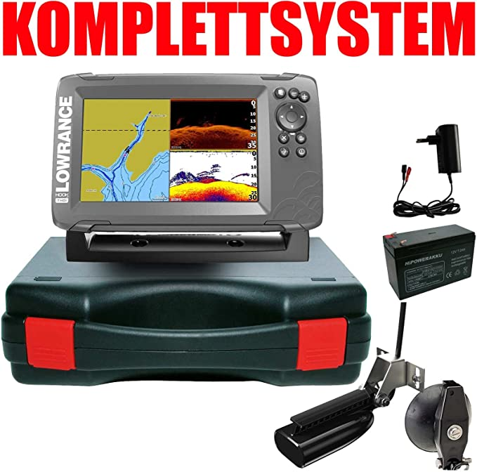 Lowrance Your Design Echolot Portabel Basic – hook2 7 Split Shot HDI Chirp Combo GPS: Amazon.es: Deportes y aire libre