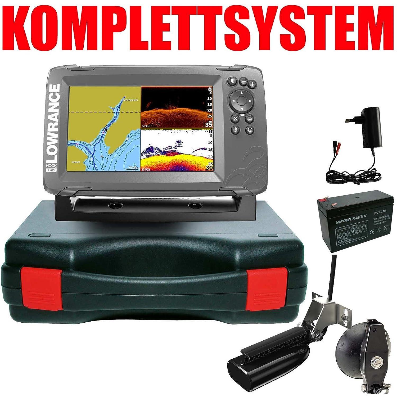 Lowrance Hook2-7x GPS SplitShot Echolot