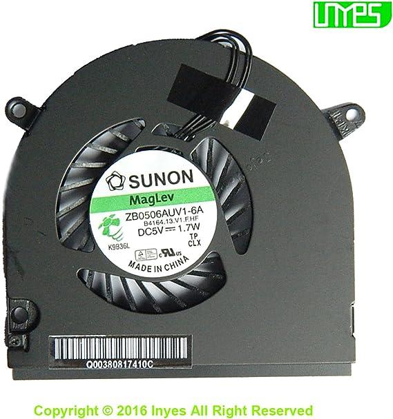 Apple MacBook P 13 A1342 SUNON CPU Cooling Fan ZB0506AUV1-6A B4164.13.V1.F.HF