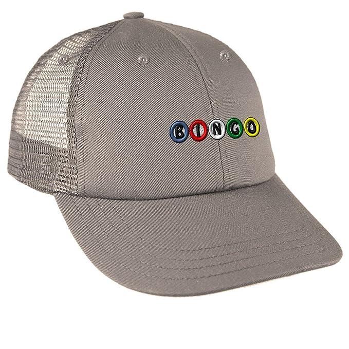 Amazon.com  Bingo Balls Embroidery Design Low Crown Mesh Golf ... 6878fea1a73