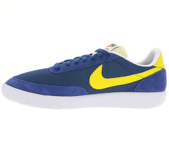 Nike Killshot (VNTG), Chaussures de Tennis Homme, Bleu/Jaune/Blanc (Insignia  Blue/Tour Yellow-WHT), 43 EU: Amazon.fr: Chaussures et Sacs