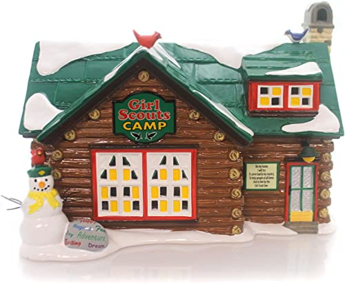 Department 56 4050982 Girl Scouts Camp by Department 56