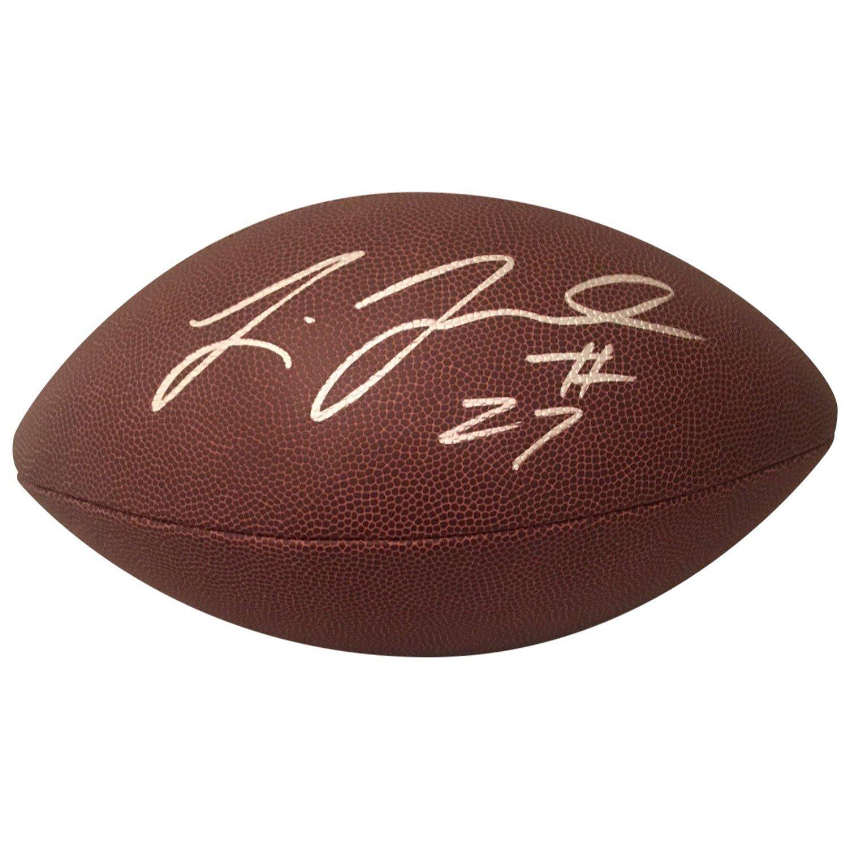 Leonard Fournette Jacksonville Jaguars LSU Tigers Autographed NFL Signed Football PSA DNA COA Powers Collectibles