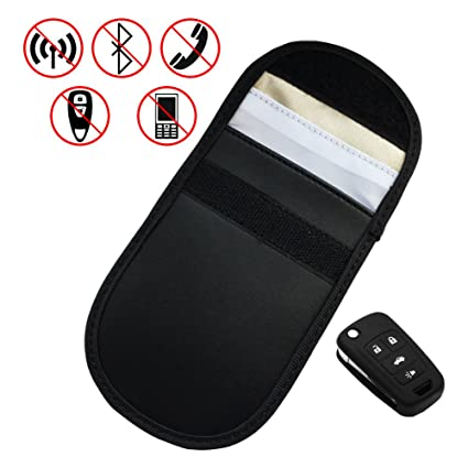 Amazon.com: RFID Signal Blocking Shielding Bag, FICBOX Key ...