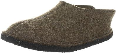 Haflinger Smily 311013, Unisex - Erwachsene Pantoffeln, Braun (schoko 552),  EU