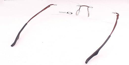 c1dbf22873 Oakley Keel Rx Prescription Eyeglasses Frame Ox3122-0453 Brick 53mm   Amazon.ca  Clothing   Accessories