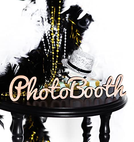 Amazon Photobooth Sign For Wedding Or Party Wooden Wedding