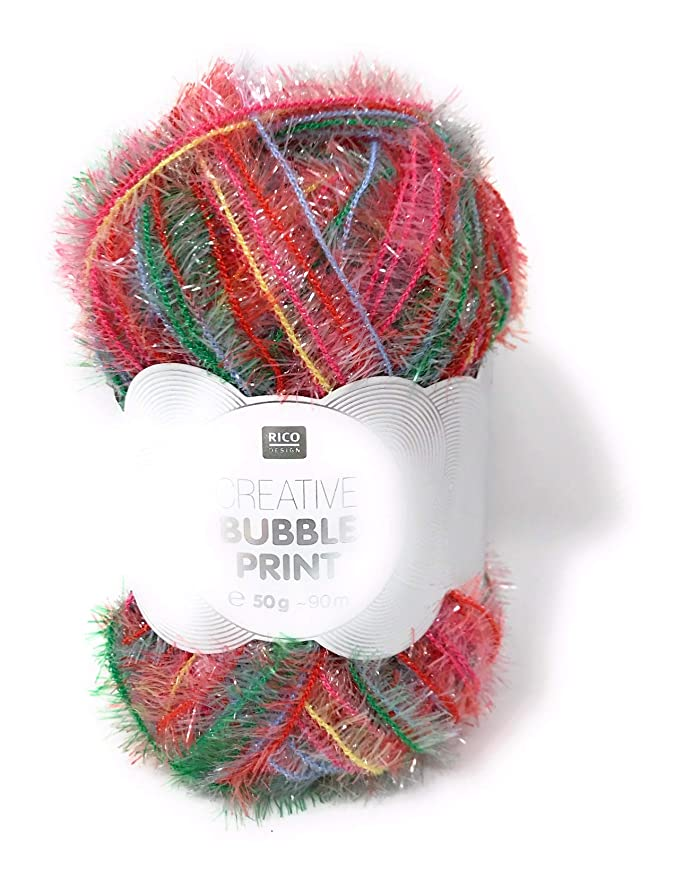 Fb Bubble Wolle Kreativ 6 rot 50 g Rico