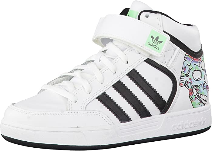 adidas Varial Mid, Sneakers Basses Mixte Adulte White