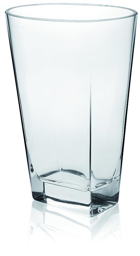 Krosno Handmade Modern Glass Vase Dogma Amazon Kitchen Home
