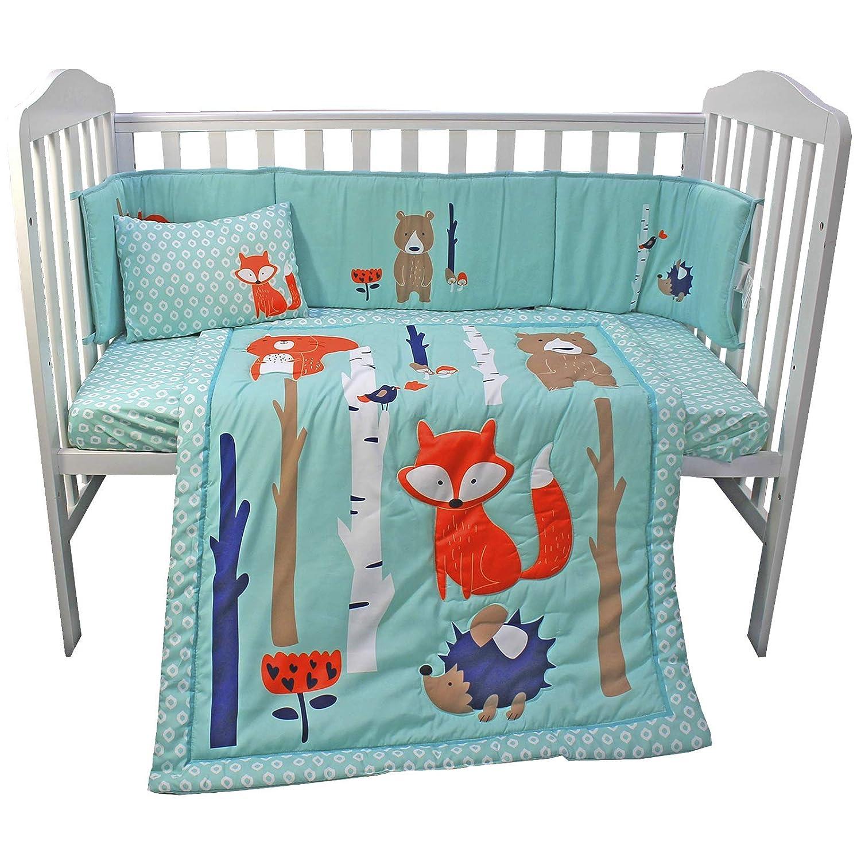 drap-housse Parure de lit compl/ète pour chambre denfant avec housse de couette oreiller