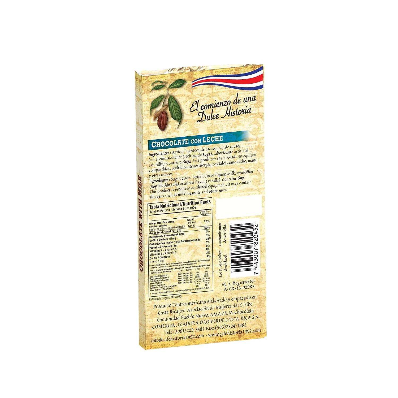 Amazon.com : Milk Chocolate bar, 40gr / 1, 4oz : Grocery ...