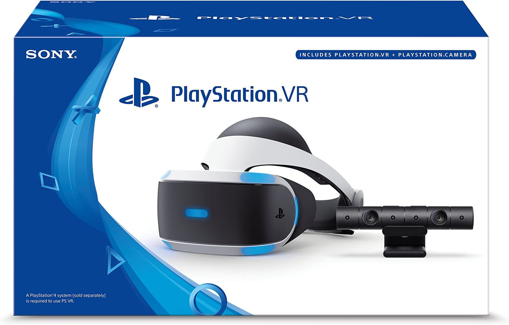 Deals on Sony PlayStation VR Headset + Camera Bundle