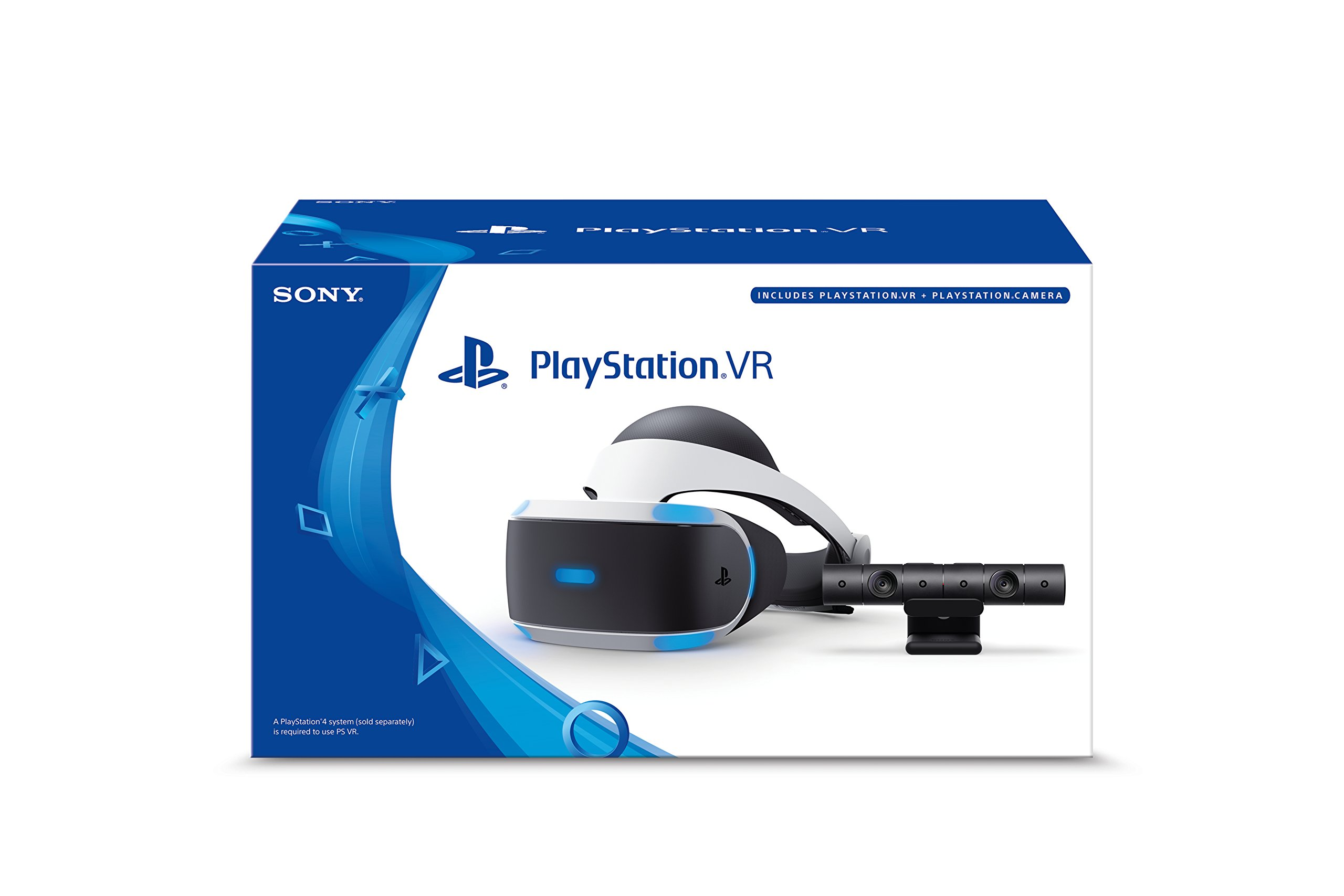 PlayStation VR Headset + Camera Bundle [Discontinued] by Sony