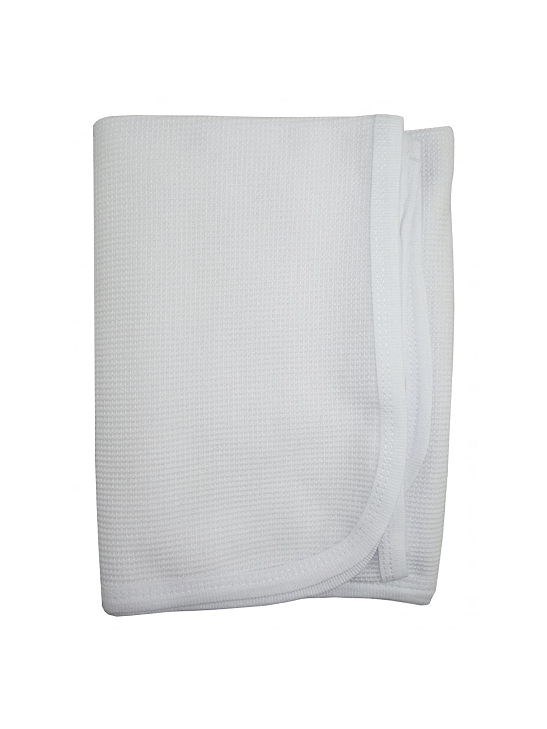 bambini Baby's Solid Thermal Receiving Blanket BAM3220M