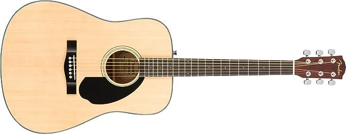 Fender CD-60S Natural Guitarra acústica: Amazon.es: Instrumentos ...