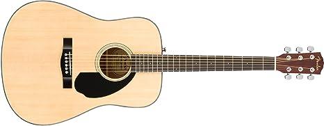Fender CD-60S Natural Guitarra acústica