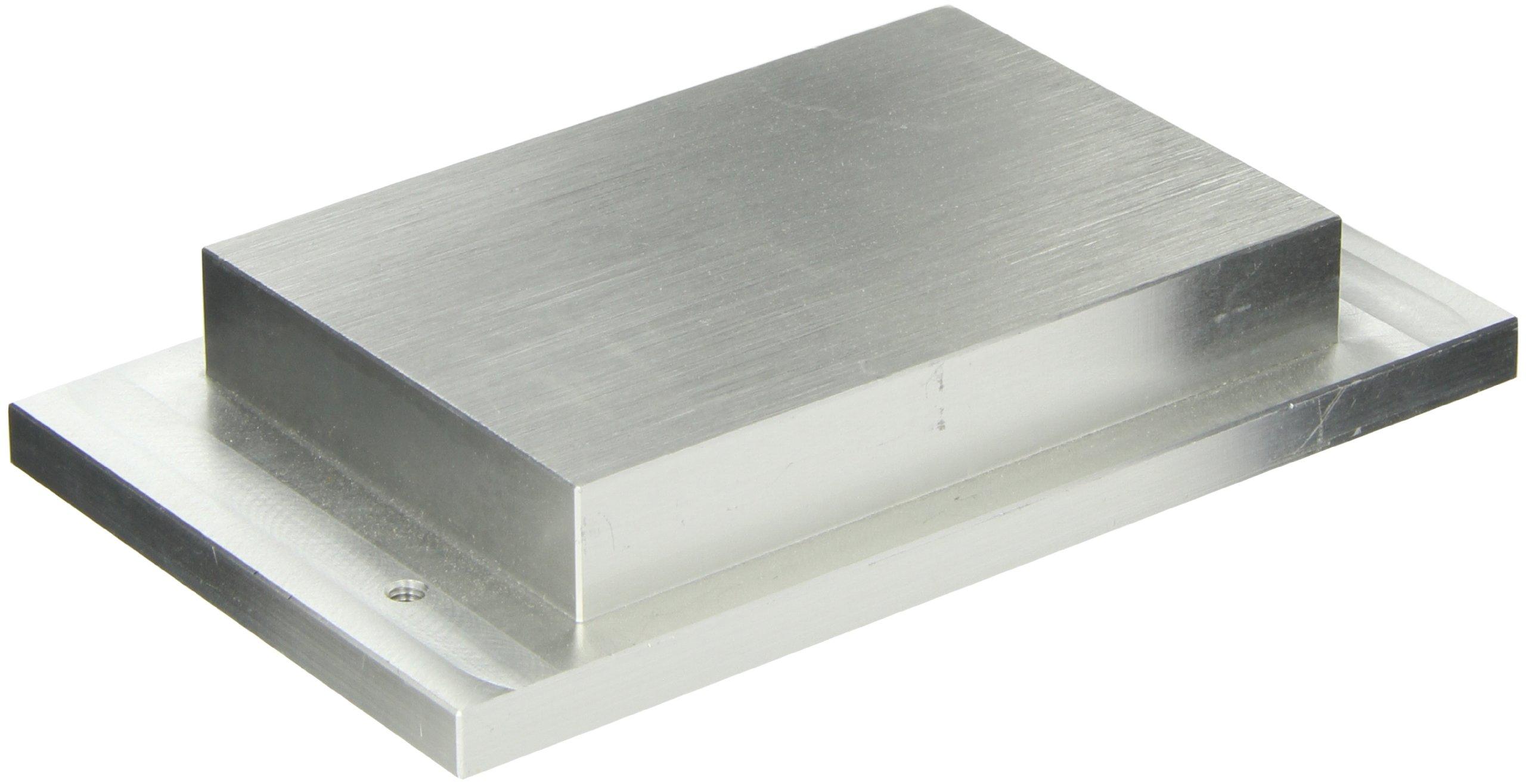 Labnet D1296 Aluminum Dry Bath Dual Block, Holds 96 Well Microtiter Plate/ 4 Slides