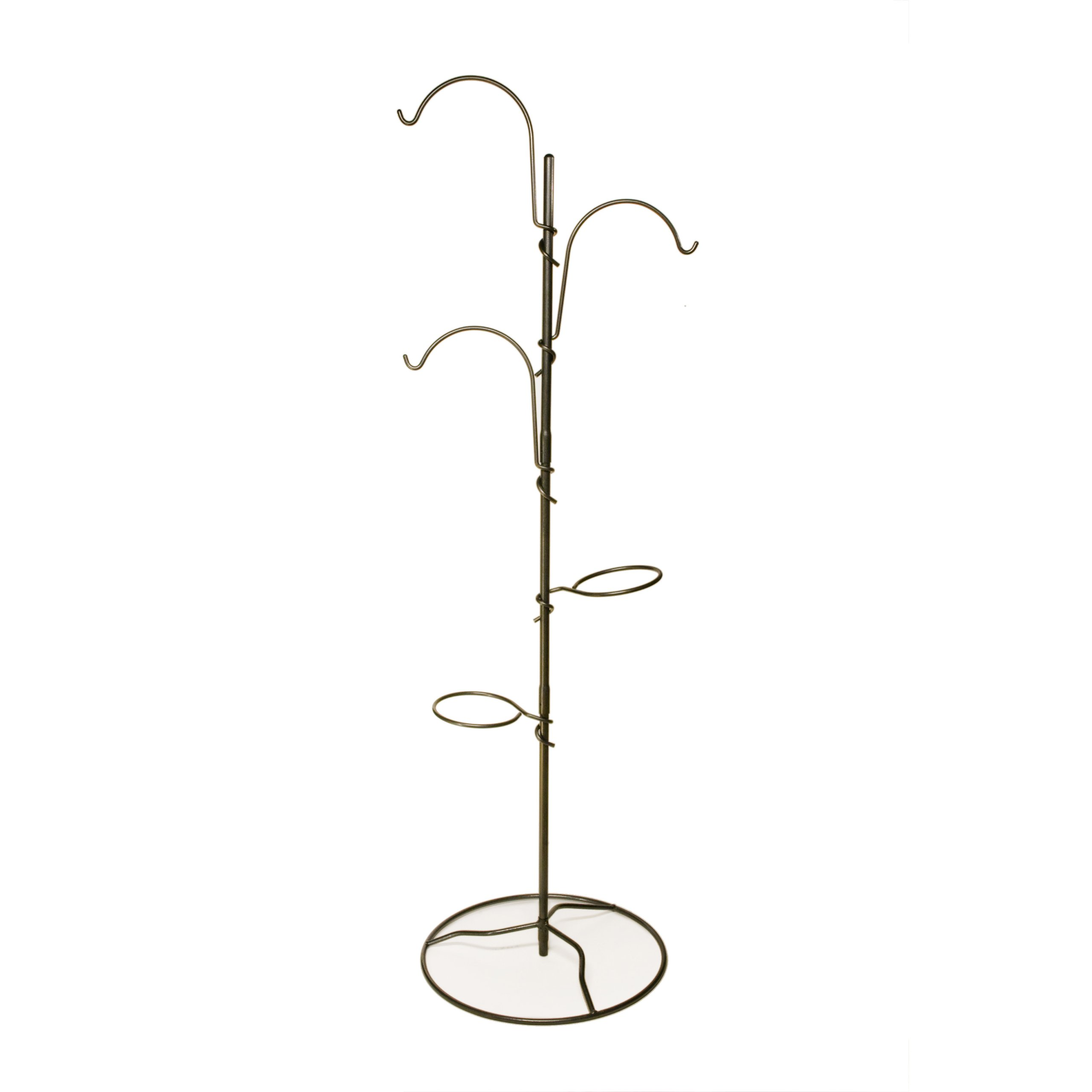 Yard Butler Yard Tree All Steel Indoor Outdoor Free Standing Adjustable Hanging Garden System & Plant Stand – YT-5 by Yard Butler