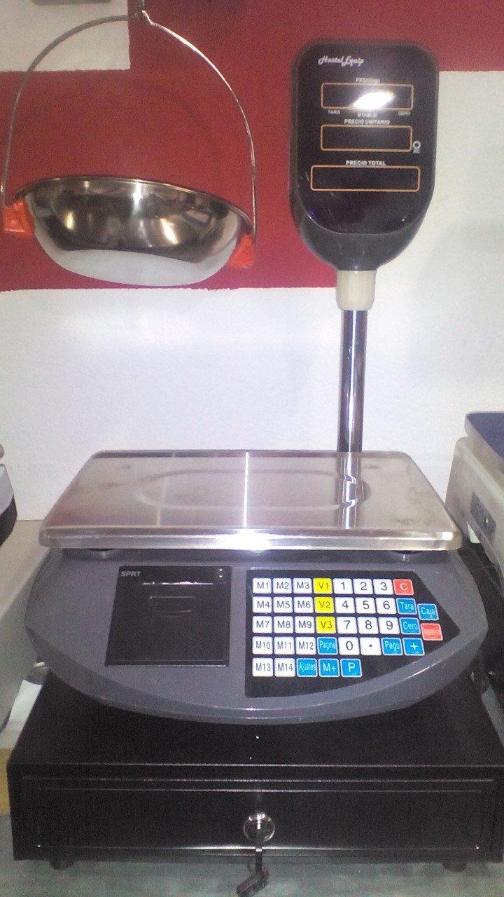 balanza bascula con impresora de ticket programable y torre alta: Amazon.es: Industria, empresas y ciencia