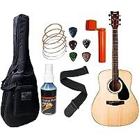 yamaha acoustic guitar F310 Dreadnought Acoustic Guitar with Sponge Bag; Belt; Guitar Cleaner; Plectrums; Winder and String Set Combo Pack