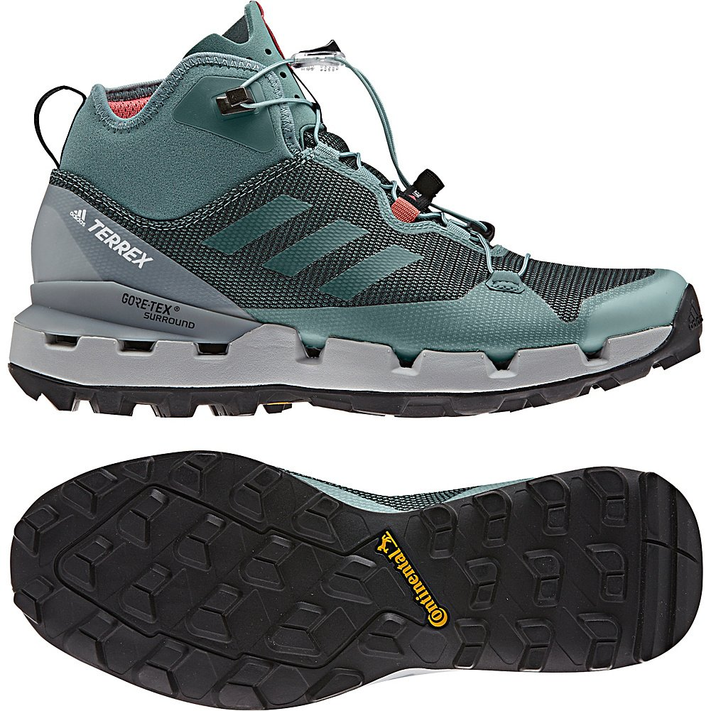 adidas outdoor Womens B072Y396YW Terrex Fast GTX-Surround Shoe B072Y396YW Womens 7 M US|Black, Grey Five, Chalk Coral 198f79