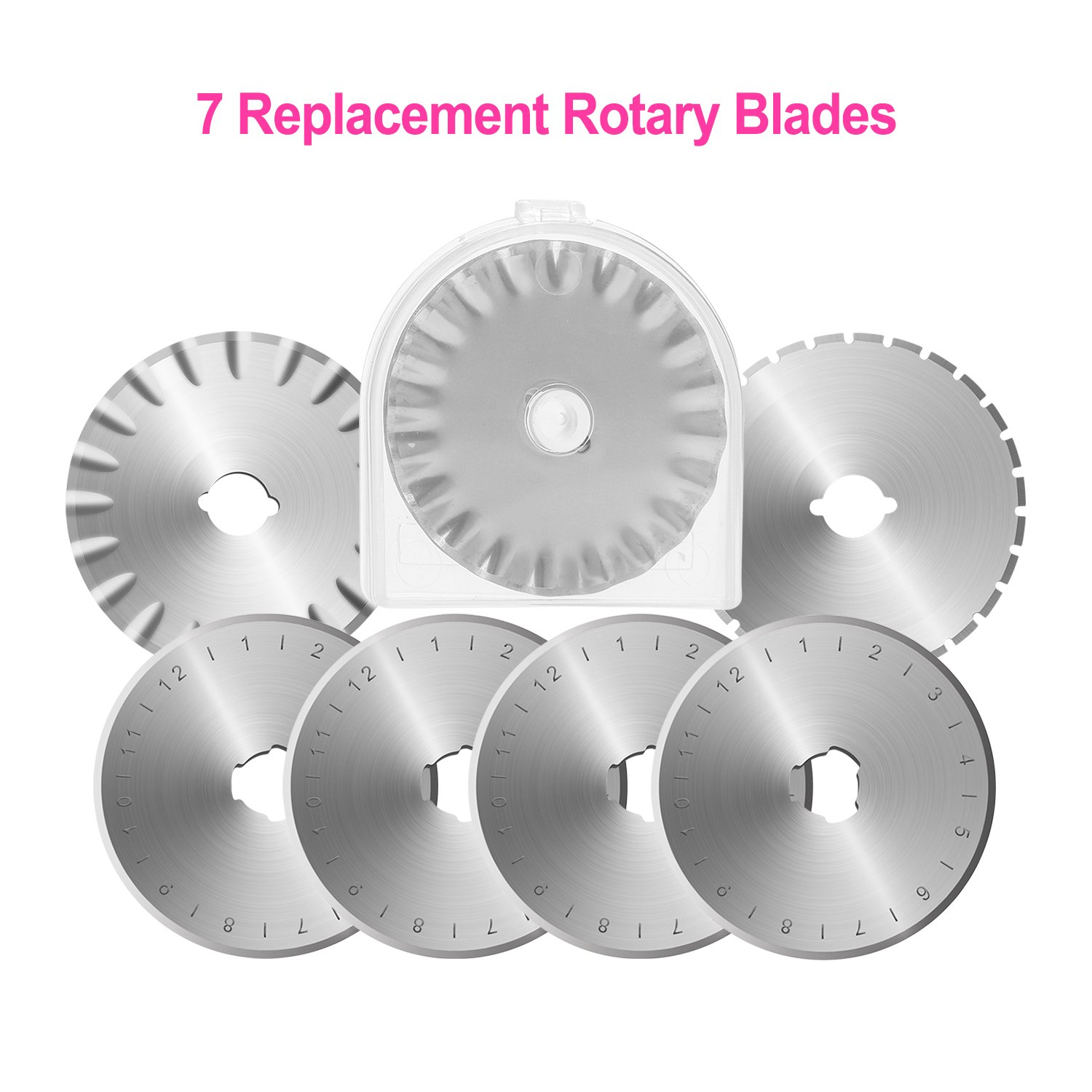 Silverline 184953 Reversible 3-in-1 Rotary Cutter 45mm Dia Disc Blades