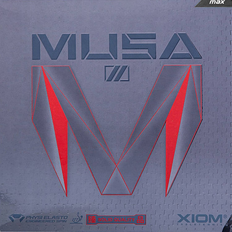 Black Max Table tennis Rubber Xiom Musa II