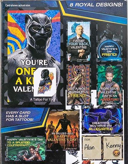 Amazon Com Valentines Day Classroom Exchange Gift Black Panther