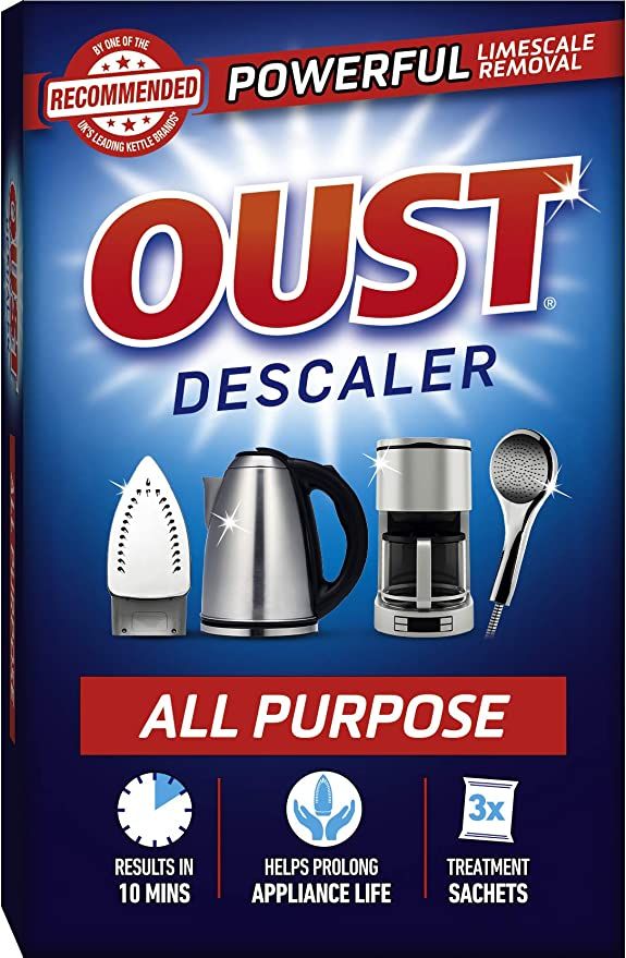 Multi Purpose Descaler and Limescale Remover Shower Kettle Bathroom Appliance UK