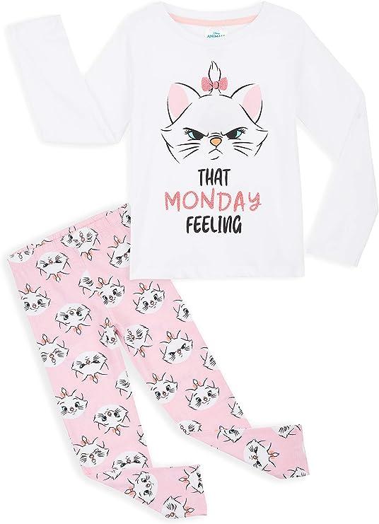 100/% Cotton Ages 4-5 Yr New Official Disney Aristocats Boys Girls Pyjama Set