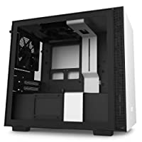NZXT H210 - CA-H210B-W1 - Mini-ITX PC Gaming Case - Front I/O USB Type-C Port -...