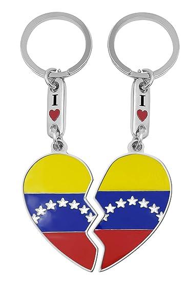Amazon.com: Llavero Venezuela Corazón 7 estrellas: Automotive