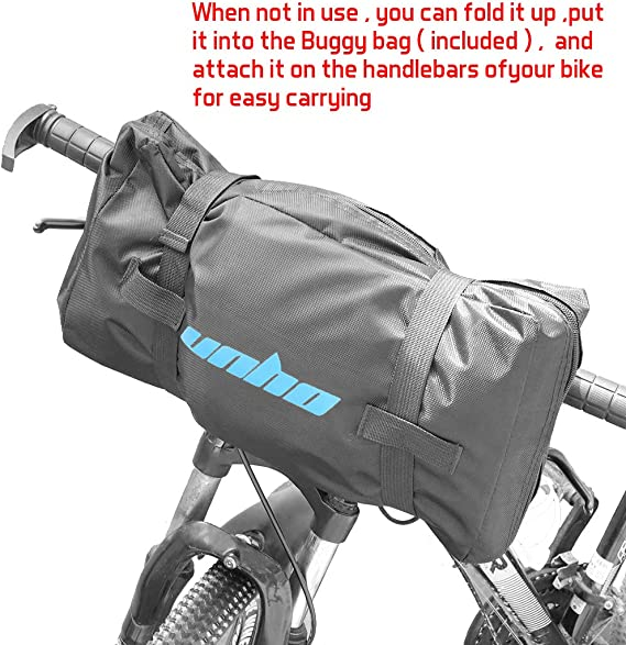 Yuehuam Bolsa de Viaje para Bicicleta Plegable Bolsa de Transporte de Almacenamiento Impermeable para Bicicletas Bolsa de Equipaje de Transporte para Viajes en Tren en Coche