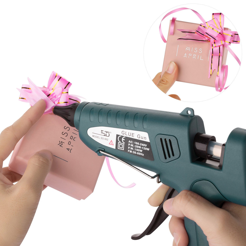 Glue Gun,100W Industrial Glue Gun High Temperature Hot Melt Glue Gun