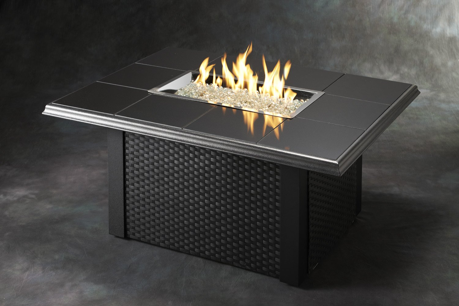 Amazon.com: Outdoor Great Room NV-1224-BLK-W-K Napa Valley Fire ...