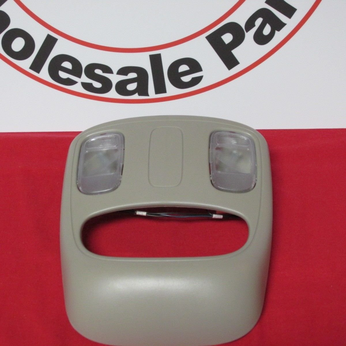 DODGE RAM Overhead Console with lamps lens bulbs switch and wiring NEW OEM MOPAR 1DK78TL2AA