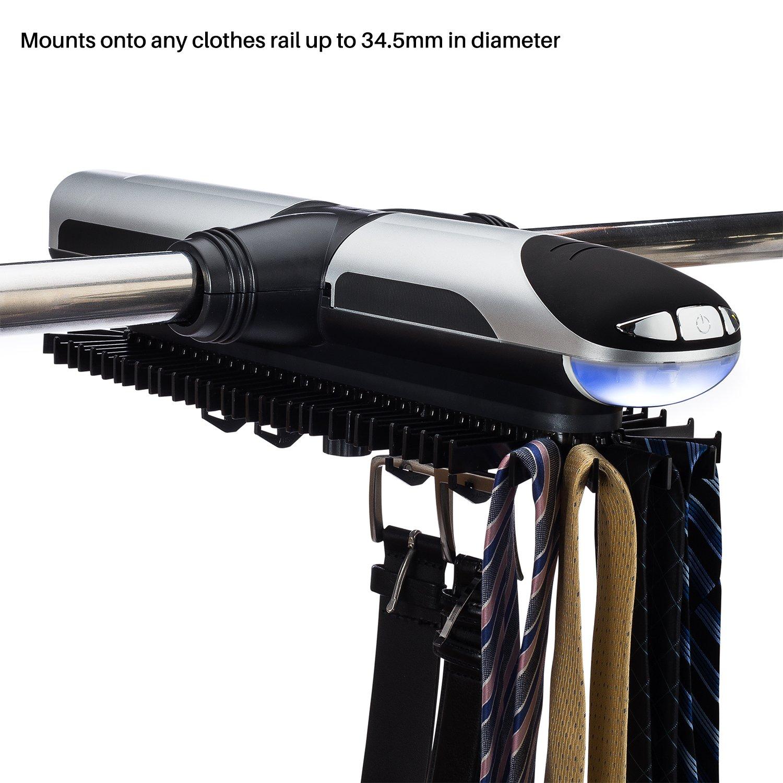 Sterline Automatic Motorized Revolving Tie And Belt Rack