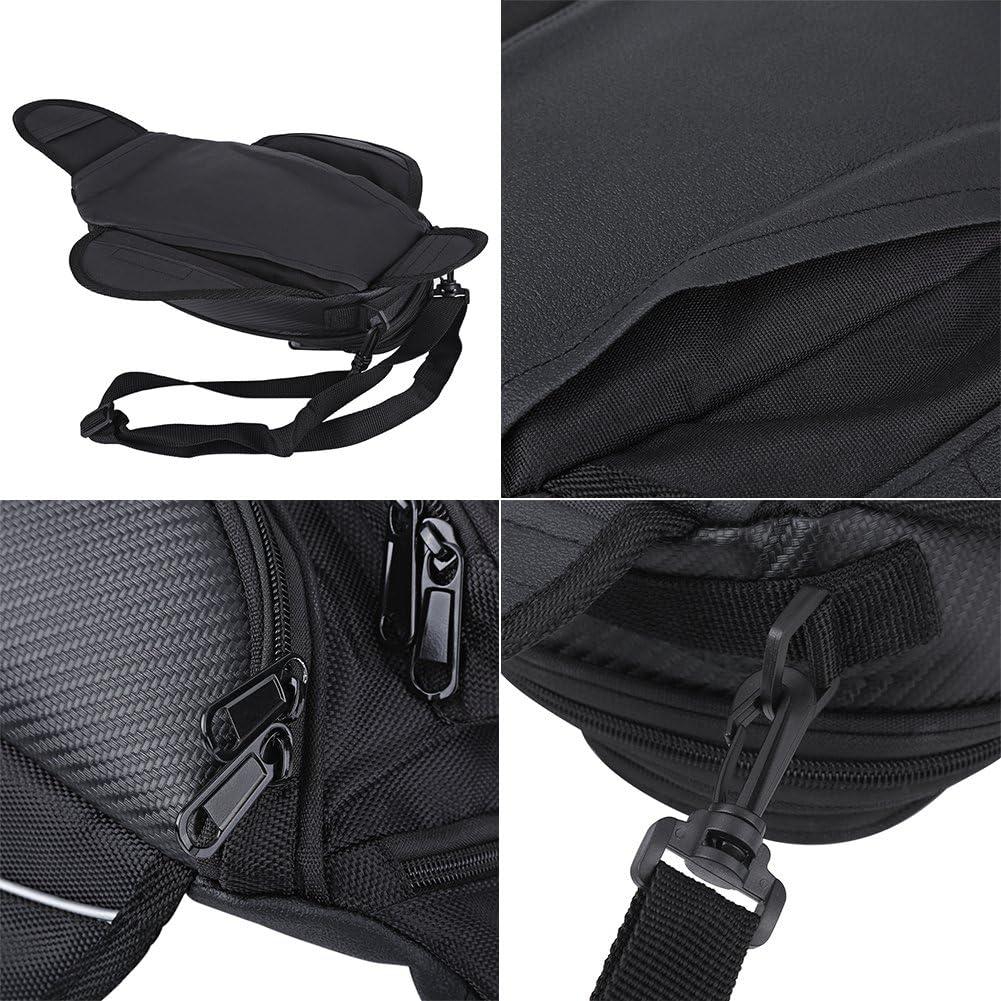 15cm Motorbike Riding Saddle Luggage Bag with Transparent Pocket 35 Waterproof Motorcycling Saddle Fuel Tank Bag High Wear 1680D Oxford Cloth 18 Ejoyous Universal Motorcycle Magnetic Tank Bag