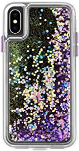Case-Mate - iPhone XS Case - GLOW WATERFALL - iPhone 5.8 - Purple Glow, CM037714