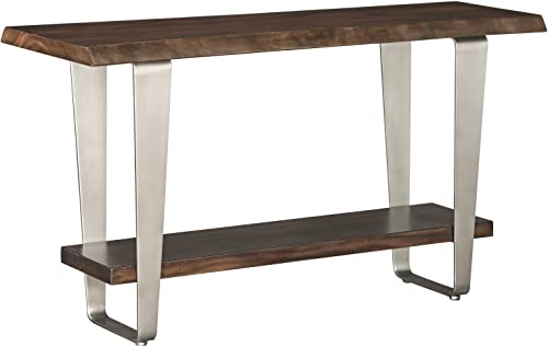 Emerald Home Furnishings Sommerville sofa table, Standard, mahogany