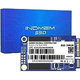 INDMEM mSATA SSD 256GB Internal Mini SATA III SSD Micro-SATA MLC 3D NAND Flash 256 GB