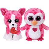 Ty 2018 Valentine Set of Two Beanie Boos - ROMEO & JULIET