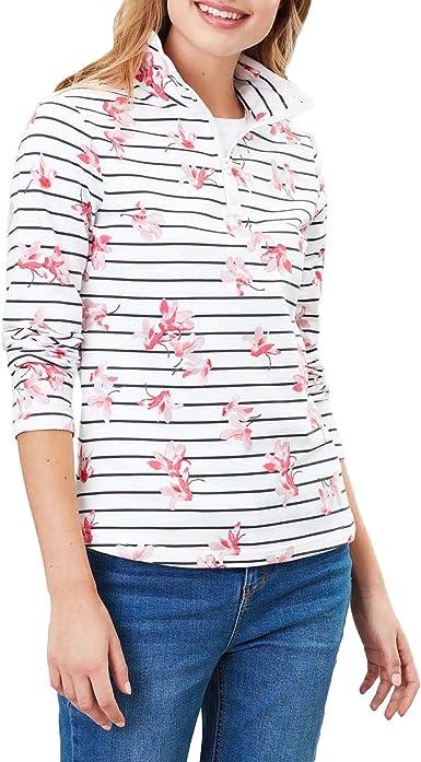 Joules Girls Fairdale Quarter Zip Soft Jersey Fleece Jacket