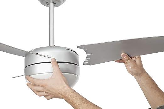 Faro Barcelona 33416 - EASY Ventilador de techo con luz, 15W ...