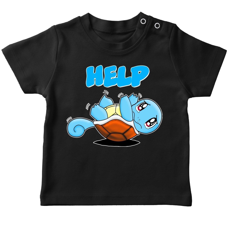 Poké mon Lustiges T-Shirts - Schiggy (Poké mon Parodie)