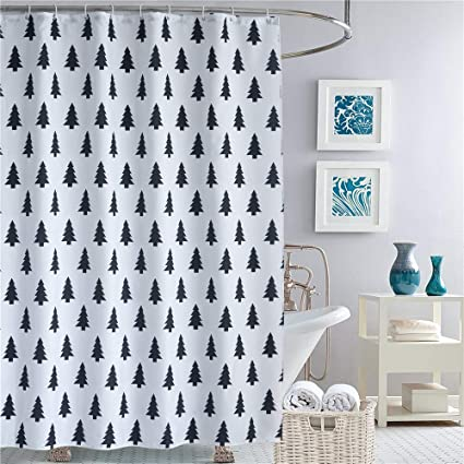Image Unavailable Not Available For Color Dolii Shower Curtain Bathroom Polyester Fabric Tree