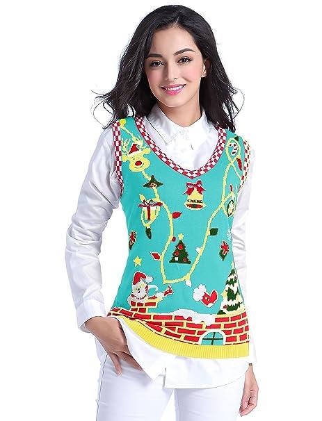 84b761a19 v28 Christmas Sweater Vest