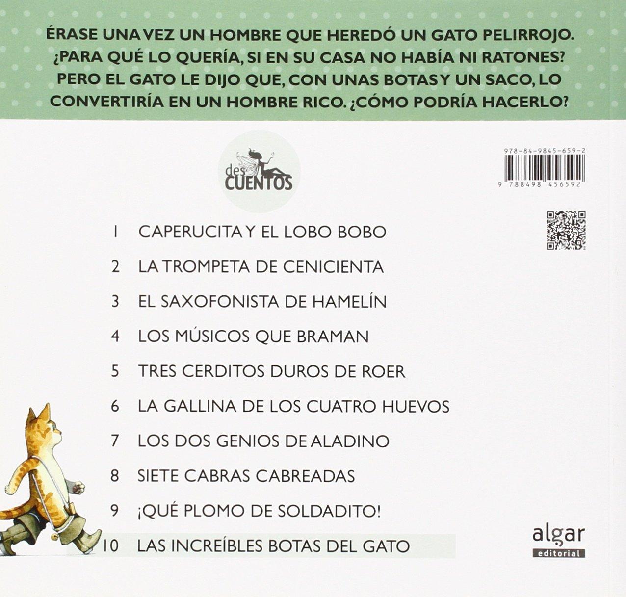 INCREIBLES BOTAS DEL GATO, LAS.: LLUCH ENRIC: 9788498456592: Amazon.com: Books
