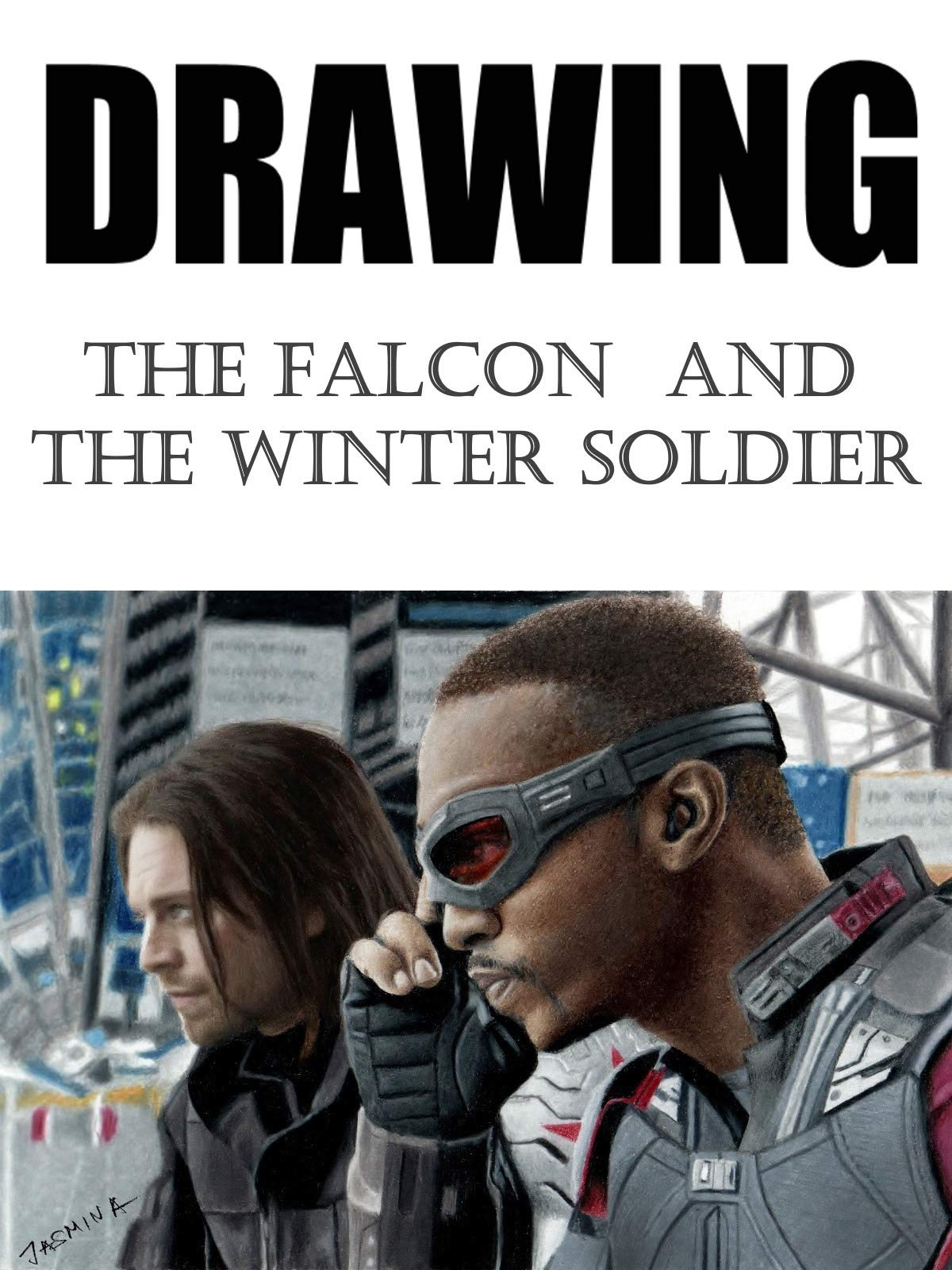 Clip: Drawing The Falcon and The Winter Soldier